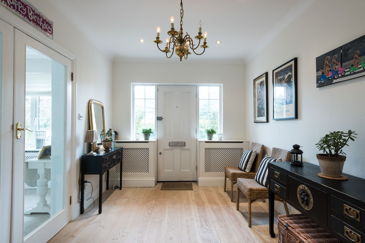Grand hallway entrance, dinesen floor, Scandinavian style