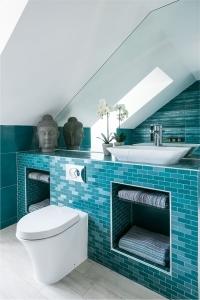 luxury bespoke modern bathroom