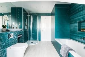 bespoke modern bathroom, stylish bathroom, luxury bathroom