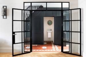 crittall doors traditional hallway