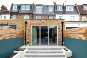 kitchen and loft extension fulham