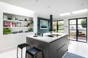 Bespoke kitchen space