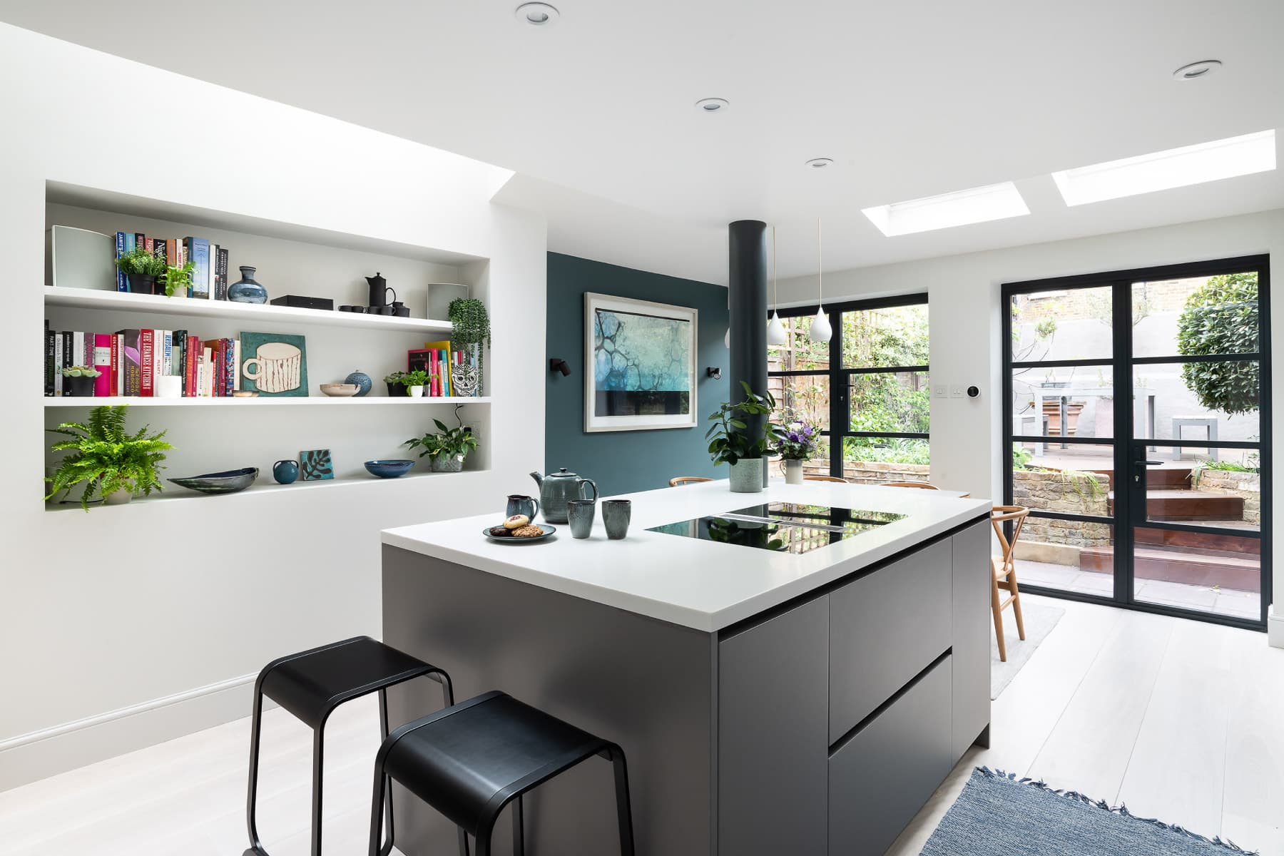 Bespoke kitchen space